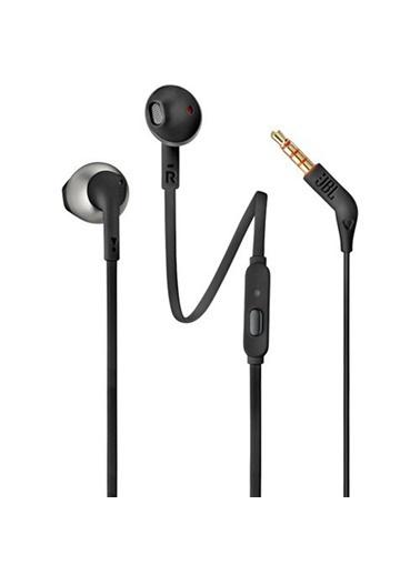 JBL T205 Siyah Kablolu Kulak İçi Kulaklık Siyah